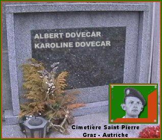 Albert DOVECAR Dovecar-tombe